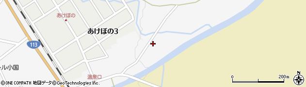 山形県西置賜郡小国町岩井沢110周辺の地図
