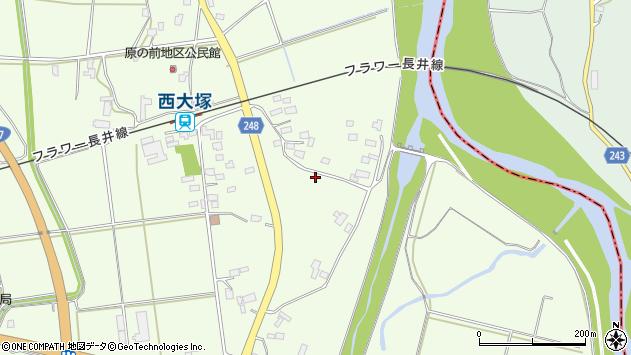 山形県東置賜郡川西町西大塚2885周辺の地図