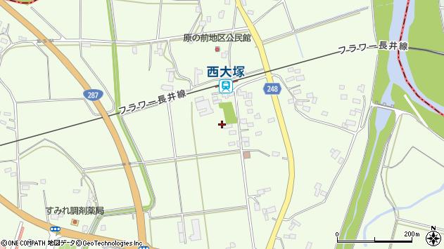 山形県東置賜郡川西町西大塚2976周辺の地図