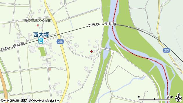 山形県東置賜郡川西町西大塚2898周辺の地図