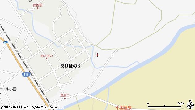 山形県西置賜郡小国町岩井沢157周辺の地図