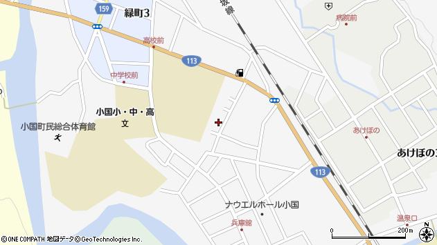 山形県西置賜郡小国町岩井沢522周辺の地図