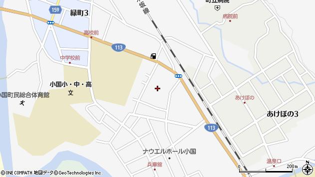 山形県西置賜郡小国町岩井沢523周辺の地図