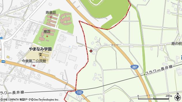山形県東置賜郡川西町西大塚2074周辺の地図