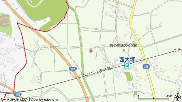山形県東置賜郡川西町西大塚3027周辺の地図