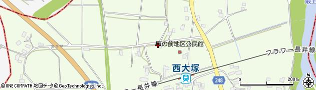 山形県東置賜郡川西町西大塚3042周辺の地図
