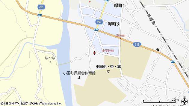 山形県西置賜郡小国町岩井沢743周辺の地図