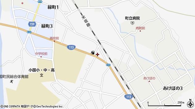 山形県西置賜郡小国町岩井沢525周辺の地図