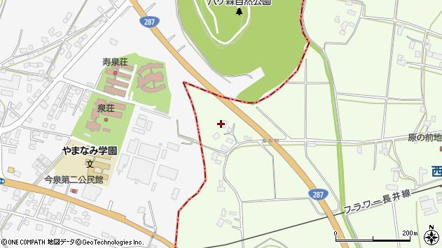 山形県東置賜郡川西町西大塚2093周辺の地図