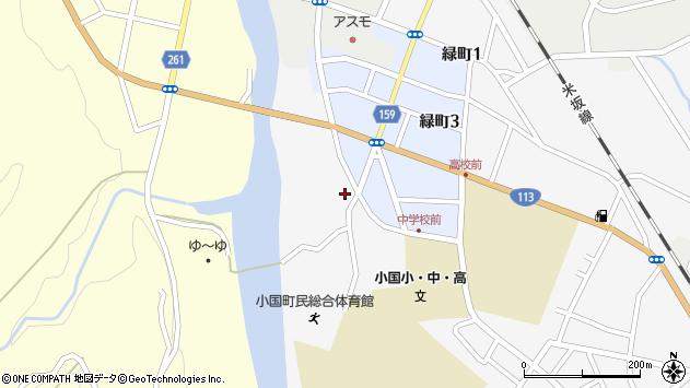山形県西置賜郡小国町岩井沢66周辺の地図