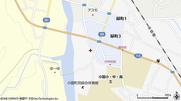 山形県西置賜郡小国町岩井沢754周辺の地図