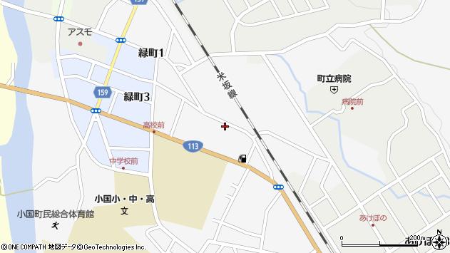 山形県西置賜郡小国町岩井沢531周辺の地図