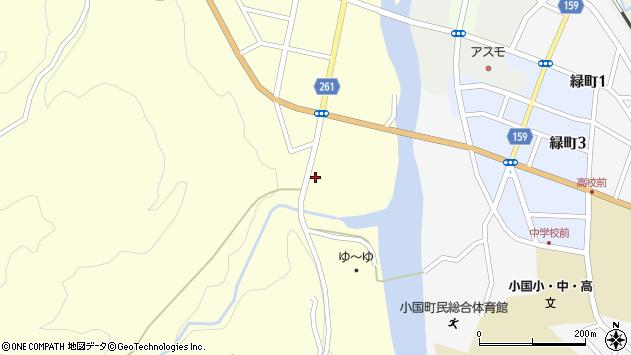山形県西置賜郡小国町小国小坂町176周辺の地図