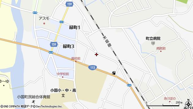 山形県西置賜郡小国町岩井沢611周辺の地図