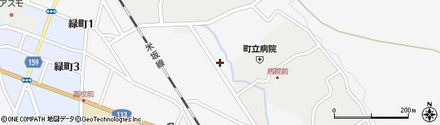 山形県西置賜郡小国町岩井沢548周辺の地図