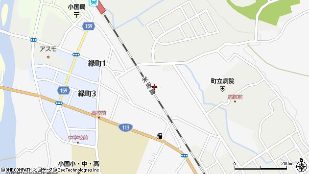 山形県西置賜郡小国町岩井沢555周辺の地図