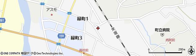 山形県西置賜郡小国町岩井沢593周辺の地図