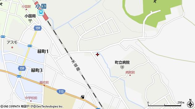 山形県西置賜郡小国町岩井沢577周辺の地図