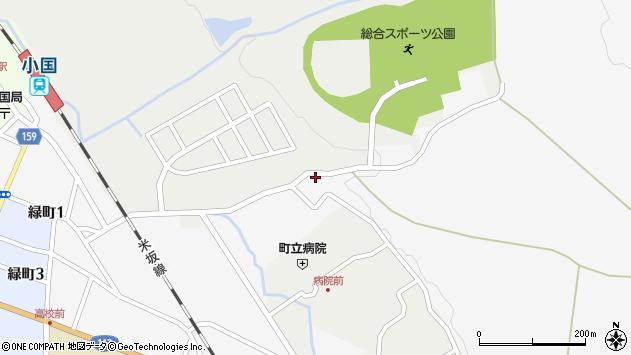 山形県西置賜郡小国町岩井沢297周辺の地図