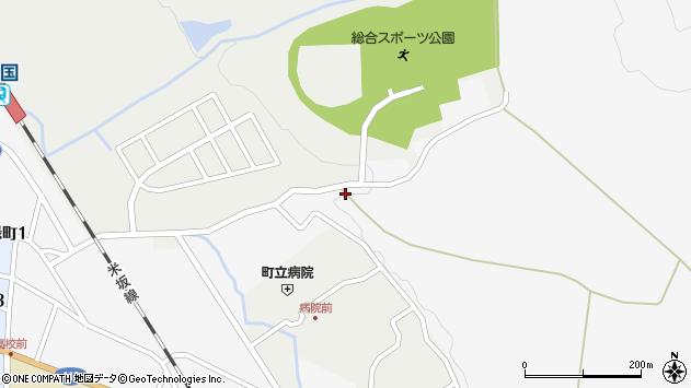 山形県西置賜郡小国町岩井沢1016周辺の地図