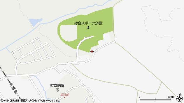 山形県西置賜郡小国町岩井沢1045周辺の地図