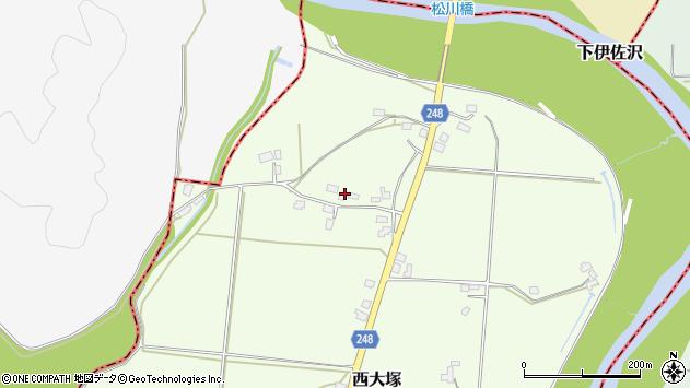 山形県東置賜郡川西町西大塚4060周辺の地図