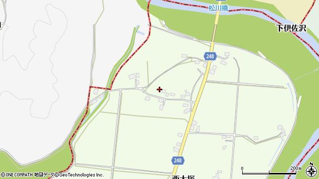 山形県東置賜郡川西町西大塚4067周辺の地図