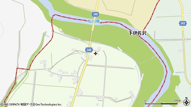 山形県東置賜郡川西町西大塚3617周辺の地図