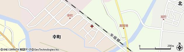 山形県西置賜郡小国町幸町5周辺の地図