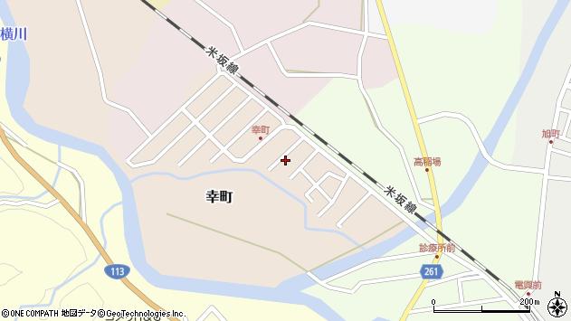 山形県西置賜郡小国町幸町6周辺の地図