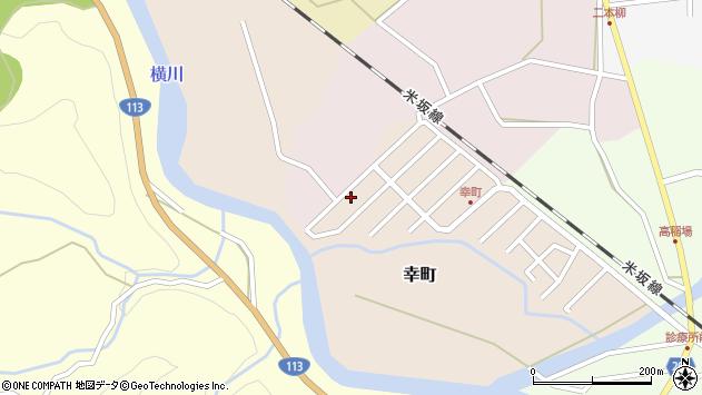 山形県西置賜郡小国町幸町13周辺の地図