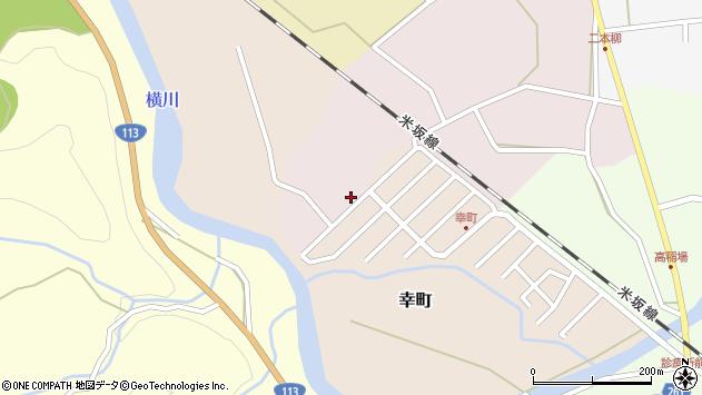 山形県西置賜郡小国町増岡50周辺の地図