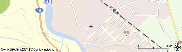 山形県西置賜郡小国町増岡57周辺の地図
