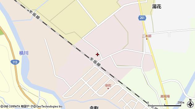 山形県西置賜郡小国町増岡95周辺の地図