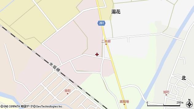 山形県西置賜郡小国町増岡20周辺の地図