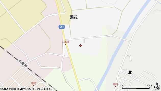 山形県西置賜郡小国町湯花5周辺の地図