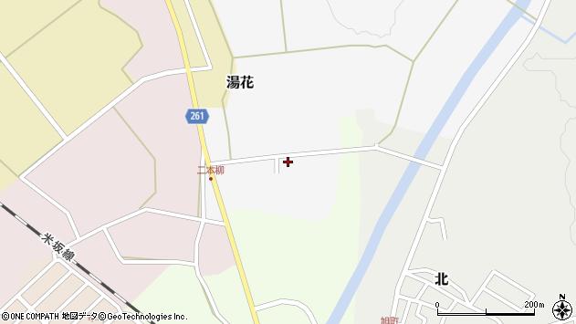山形県西置賜郡小国町湯花2周辺の地図
