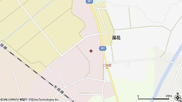 山形県西置賜郡小国町増岡141周辺の地図