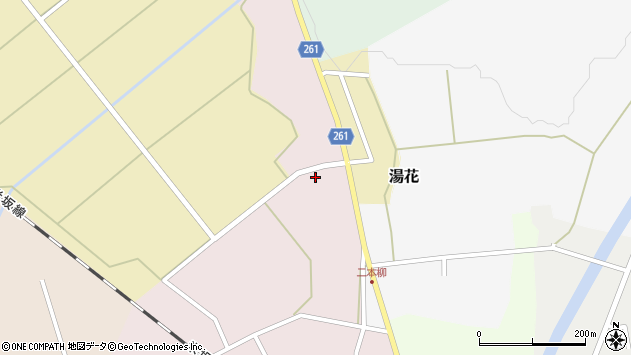 山形県西置賜郡小国町増岡249周辺の地図