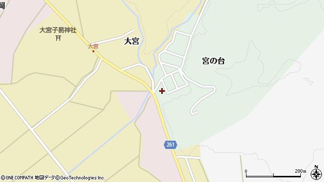 山形県西置賜郡小国町宮の台9周辺の地図