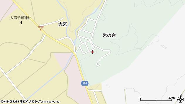 山形県西置賜郡小国町宮の台6周辺の地図