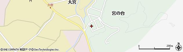 山形県西置賜郡小国町宮の台15周辺の地図