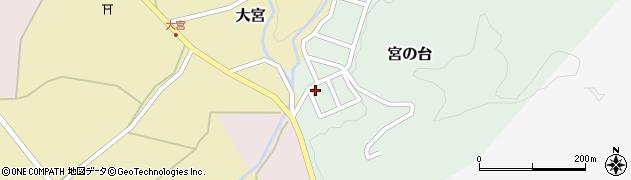 山形県西置賜郡小国町宮の台19周辺の地図