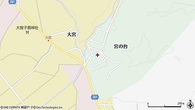 山形県西置賜郡小国町宮の台21周辺の地図