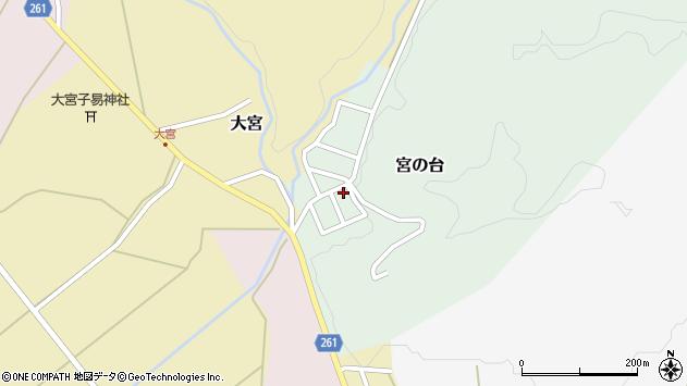 山形県西置賜郡小国町宮の台22周辺の地図