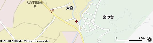 山形県西置賜郡小国町大宮74周辺の地図