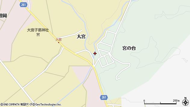 山形県西置賜郡小国町宮の台25周辺の地図