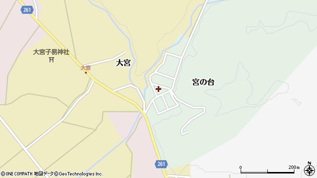 山形県西置賜郡小国町宮の台26周辺の地図