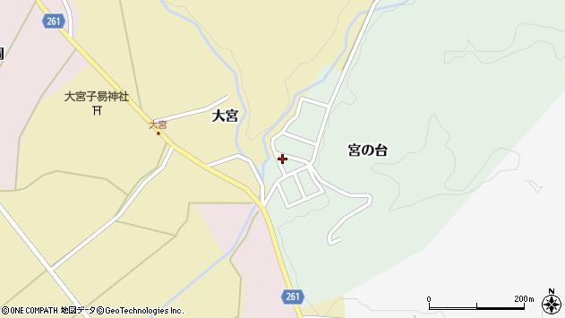 山形県西置賜郡小国町宮の台27周辺の地図