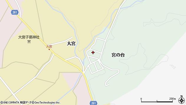 山形県西置賜郡小国町宮の台36周辺の地図